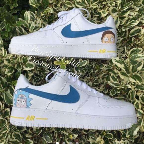 Nike Shoes | Rick Morty Custom Air